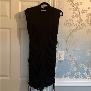 T by Alexander wang dress. Black, fitted.